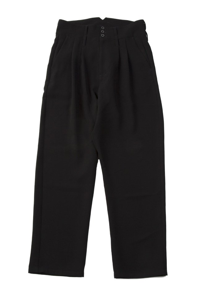 MUZE - TUCK IN SLACKS (BLACK)