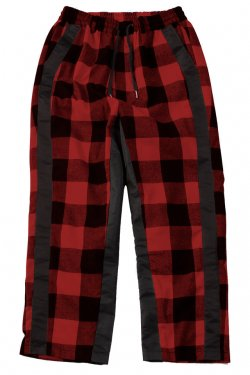 <img class='new_mark_img1' src='//img.shop-pro.jp/img/new/icons20.gif' style='border:none;display:inline;margin:0px;padding:0px;width:auto;' />【20%OFF】PARADOX - CHECK PANTS (RED-CHECK) パラドックス チェックパンツ
