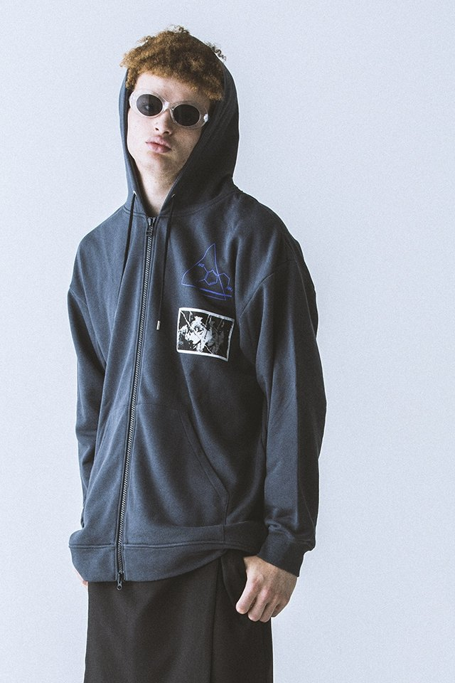 <img class='new_mark_img1' src='//img.shop-pro.jp/img/new/icons20.gif' style='border:none;display:inline;margin:0px;padding:0px;width:auto;' />【40%OFF】PARADOX - ZIP PARKA (C.GRAY) パラドックス ジップパーカー