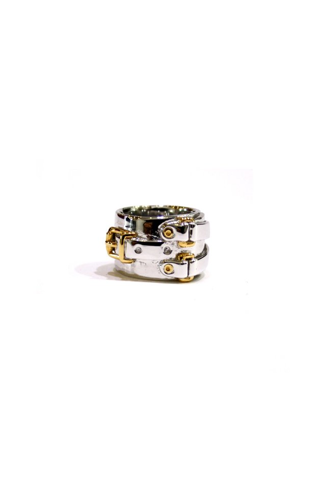 ETHOS - J.L. RING (SILVER×GOLD) エトス リング ジョニーロットン