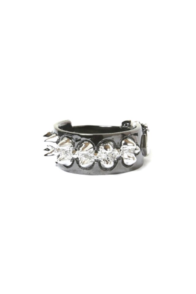 ETHOS - USK Studs Ring(BLACK)