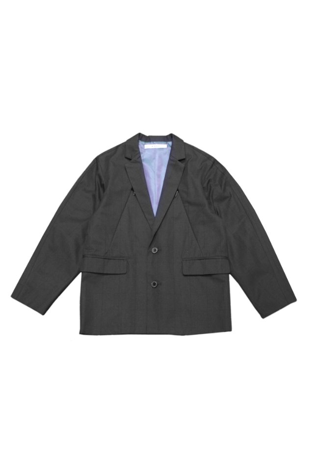 MUZE - MEETING TAILORED JACKET(CCL×BLK)  ミューズ テーラードジャケット