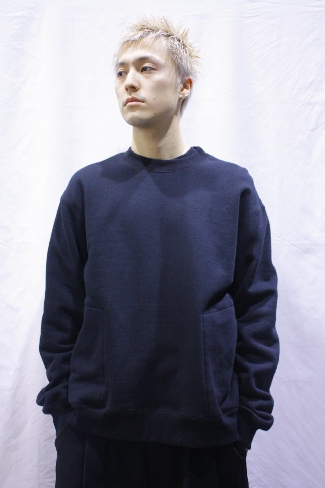 【MUZE GALLERY限定商品】MUZE - CREW NECK SWEAT SHIRT(BLACK) ミューズ  スウェット