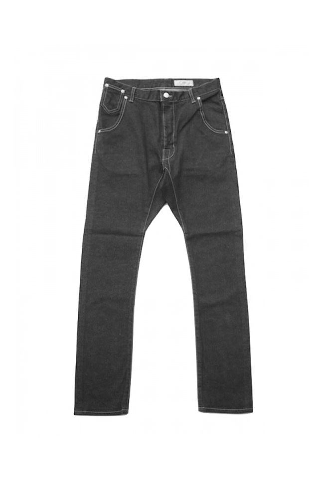 JieDa - SARROUEL SKINNY DENIM(BLACK)