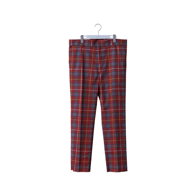 【30%OFF】NEON SIGN - PLAID WORK PANTS
