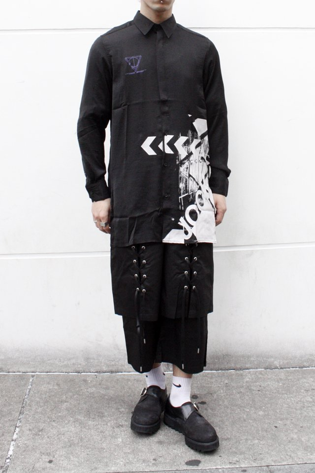 【STYLING SET FAIR】 LONG SHIRTS × LACEUP PANTS