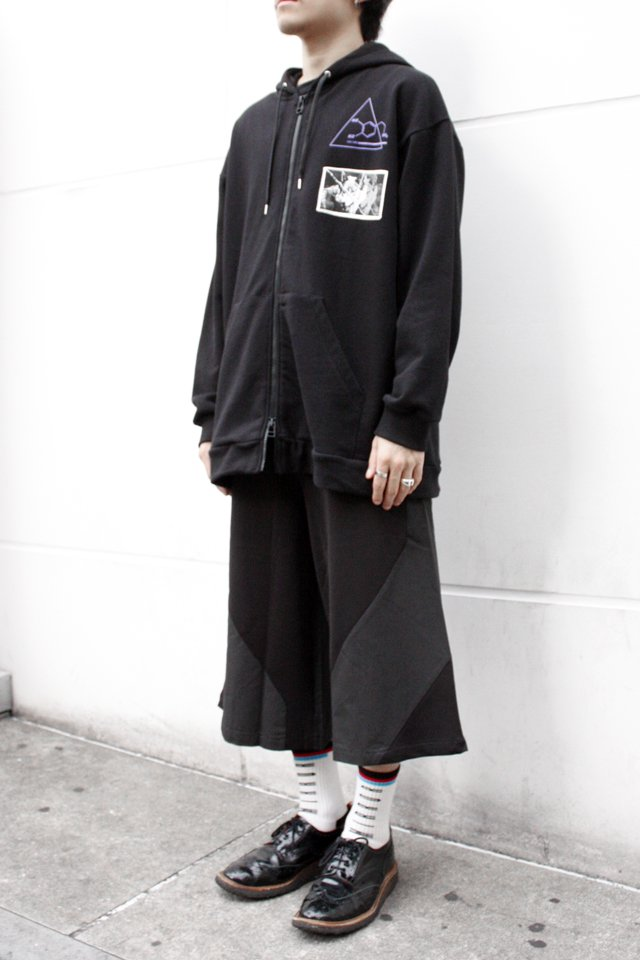 【STYLING SET FAIR】 ZIP PARKA × GAUCHO PANTS