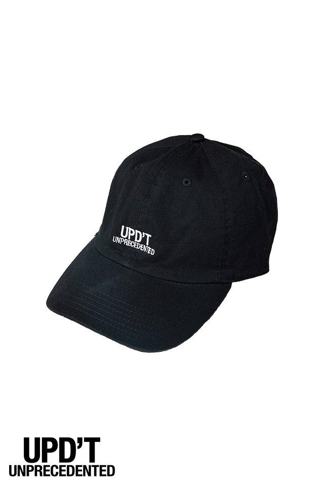 UPD'TーLOGO CAP(BLACK)