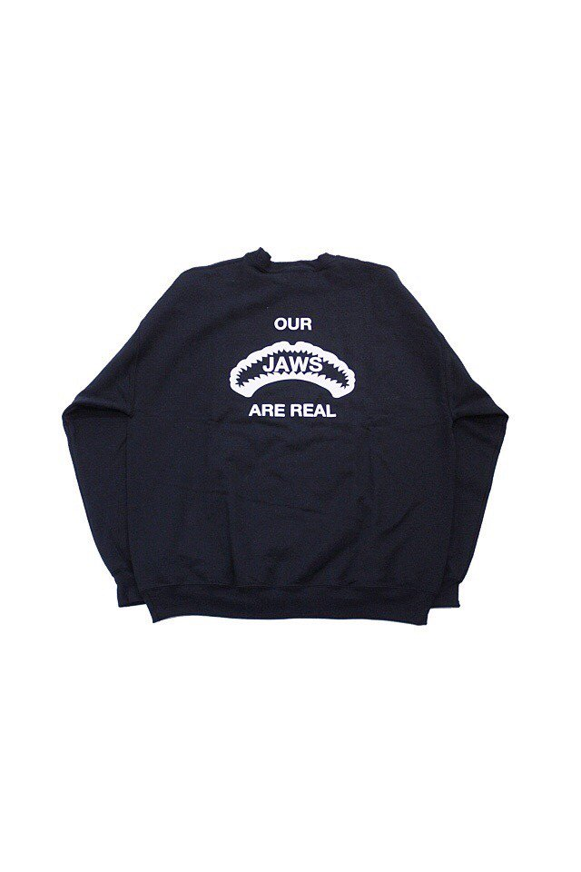 【20%OFF】The Adams&River - JAWS SWEAT(BLACK)
