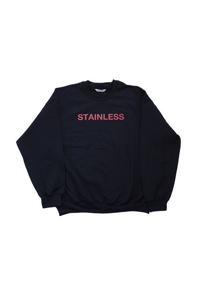 【20%OFF】The Adams&River - STAINLLESS SWEAT(BLACK)