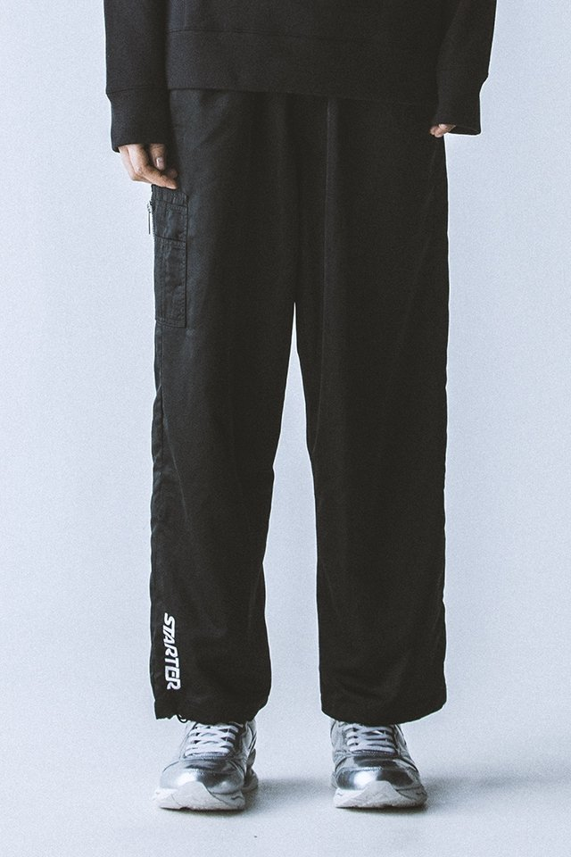 <img class='new_mark_img1' src='//img.shop-pro.jp/img/new/icons20.gif' style='border:none;display:inline;margin:0px;padding:0px;width:auto;' />【30%OFF】PARADOX - MA-1 PANTS (BLACK) パラドックス  エムエーワンパンツ