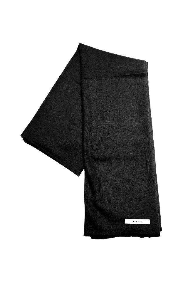 MUZE - CASHMERE WOOL SCARF (BLACK) ミューズ スカーフ