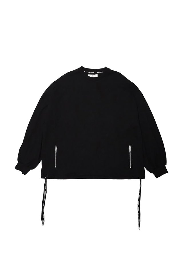 <img class='new_mark_img1' src='https://img.shop-pro.jp/img/new/icons20.gif' style='border:none;display:inline;margin:0px;padding:0px;width:auto;' />【30%OFF】PARADOX - WIDE SWEAT (BLACK)