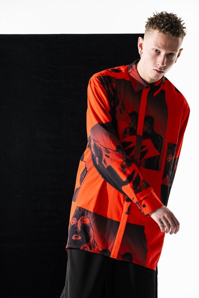 【予約アイテム】PARADOX×FALILV by FaLiLV - GRAPHIC LONG SHIRTS(GRALE)