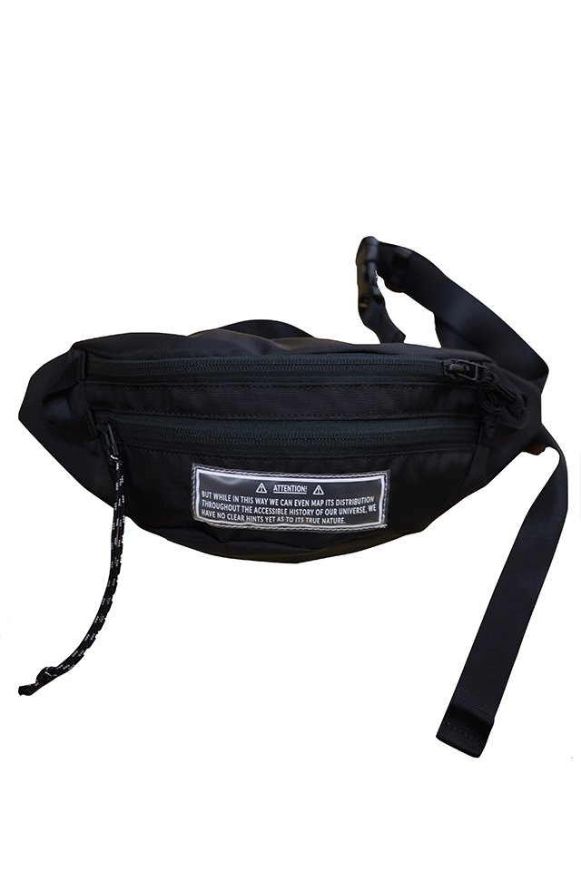 JieDa - WAIST BAG(BLACK)
