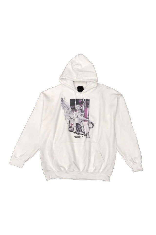 H>FRACTAL ORIGINAL - GRAPHIC PARKA - GABRIEL(WHITE)