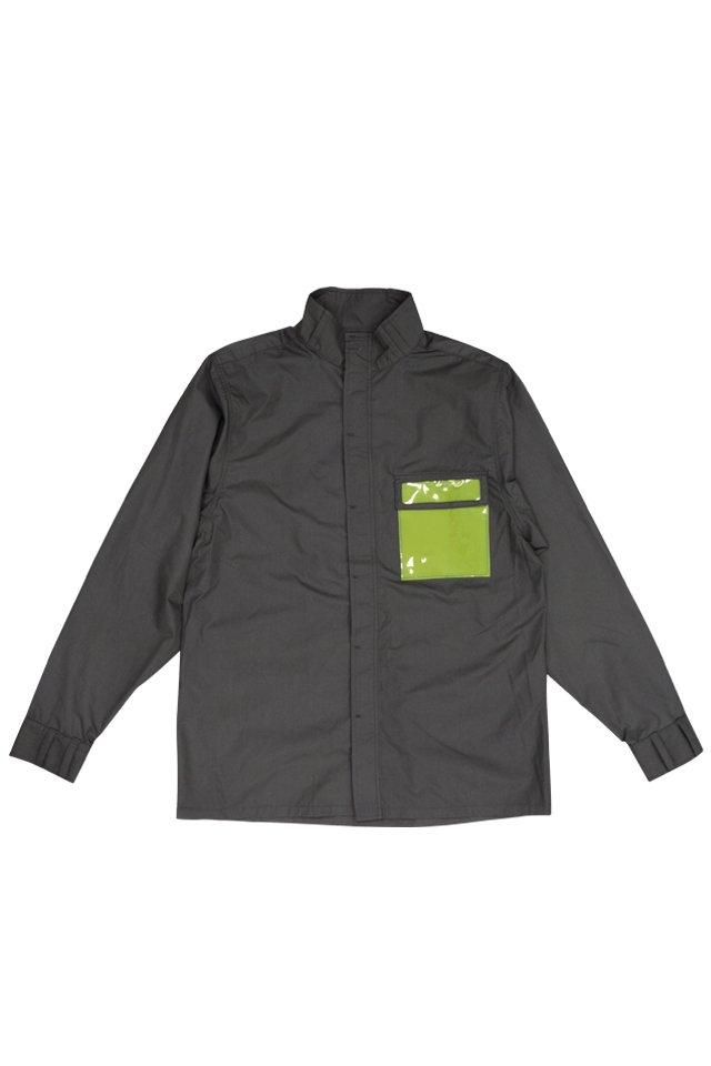 【30%OFF】PARADOX - HIGHNECK SHIRTS (BLACK) パラドックス  ハイネックシャツ