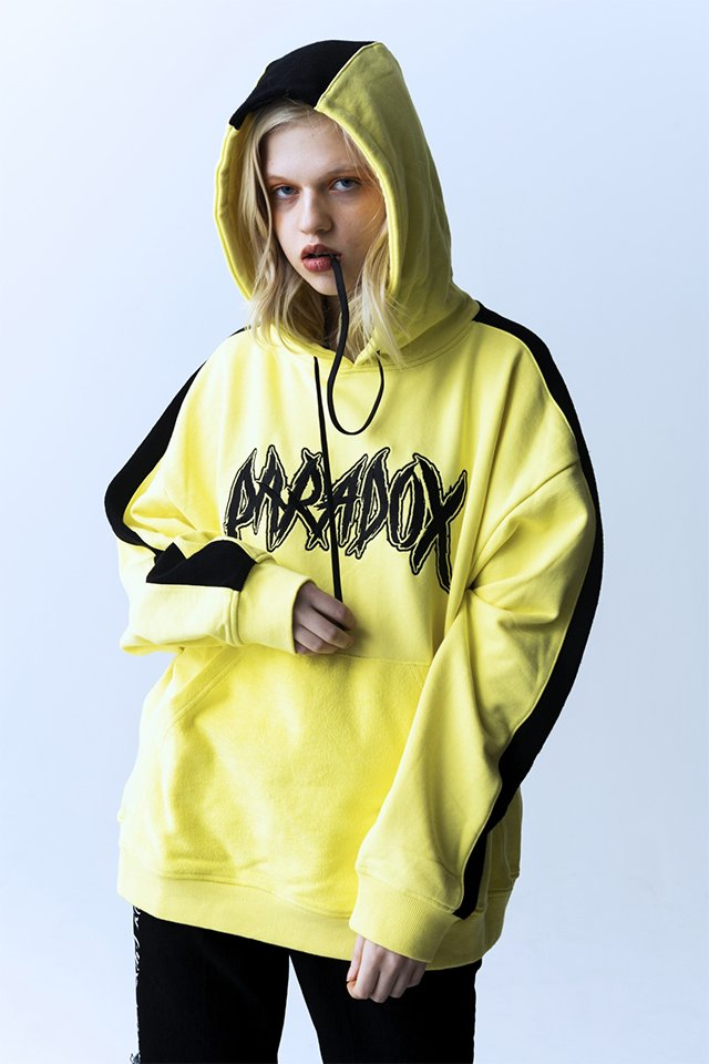 【20%OFF】PARADOX - INSIDE OUT PULLPARKA (NEON YLW) パラドックス  インサイドアウトプルパーカー