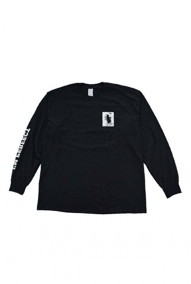 PARADOX - PRINT L/S TEE (ASSOCIATION / BLACK) パラドックス シャツ
