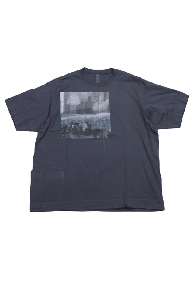 SHINYA KOZUKA - TACTICAL PHOTO TEE (CHARCOAL)