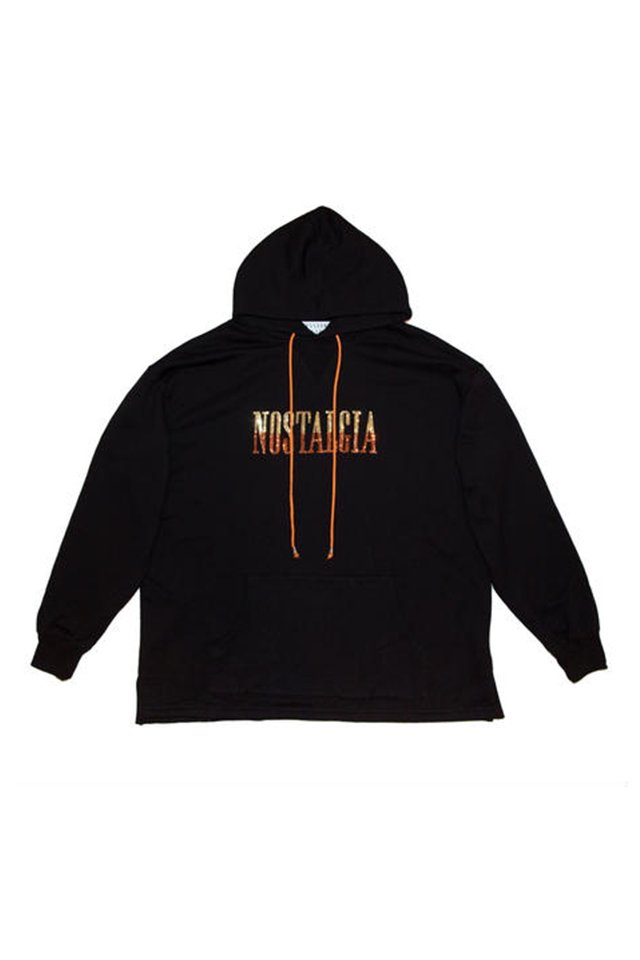 elconductorH - OVERSIZED SPANGLE HOODED SWEATER 'NOSTALGIA