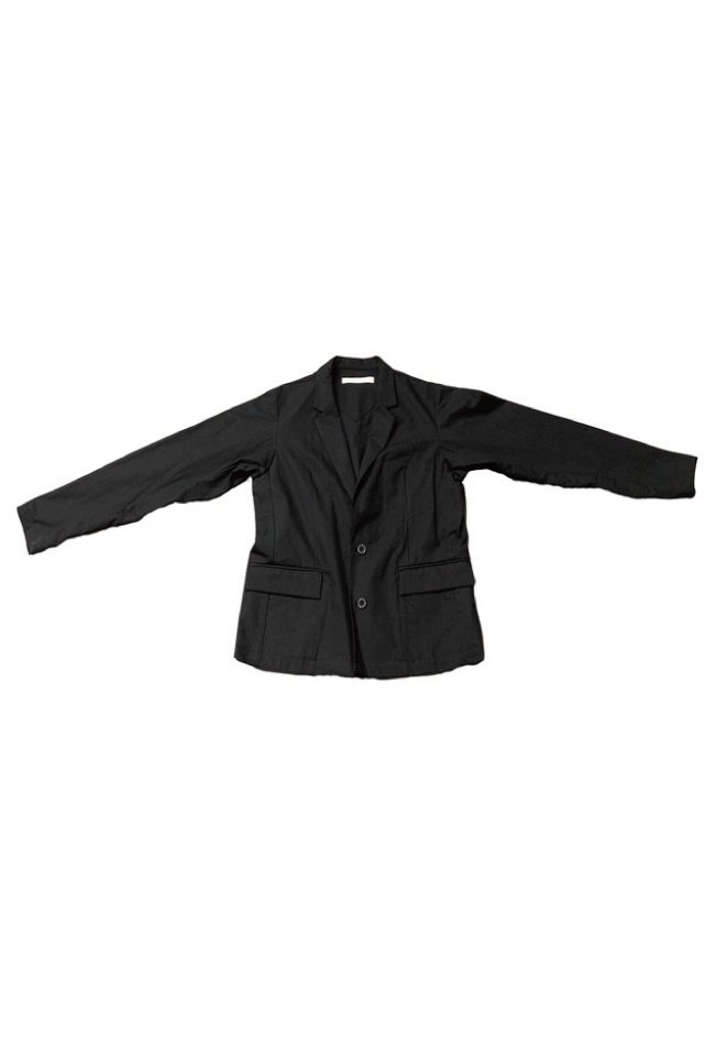 MUZE-LINEN TAILORED JACKET(BLACK) ミューズ ジャケット