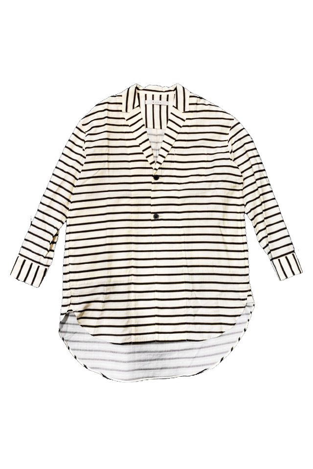 MUZE-CHESTER SHIRTS(WHITE) ミューズ シャツ