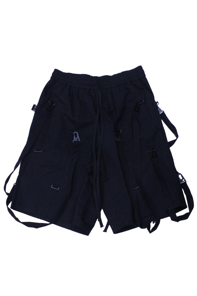 KOMAKINO - TAPED SHORTS (BLACK)
