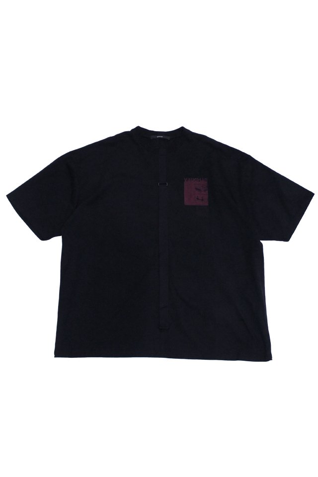 KOMAKINO - RELAXED FIT JERSEY T-SHIRT CRASH (BLACK)