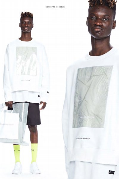 ODEUR - Art Sweat (Off White)