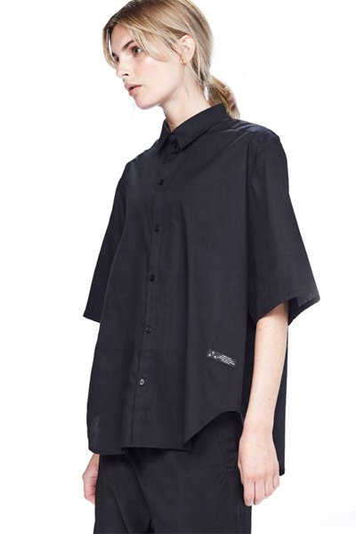 ODEUR - Aspect S/S Shirts (Black)