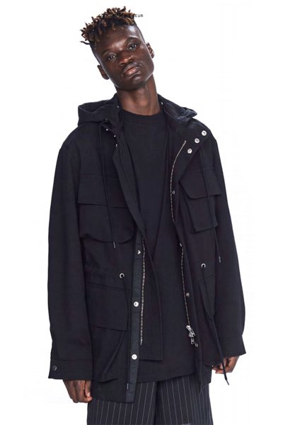 ODEUR - Sculpt Jacket (Black)