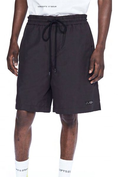 ODEUR - Loose Shorts (Black)
