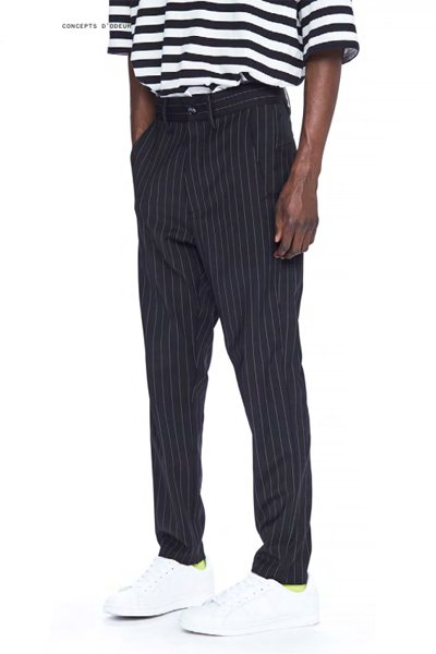ODEUR - Blank Pants (Black Stripe)