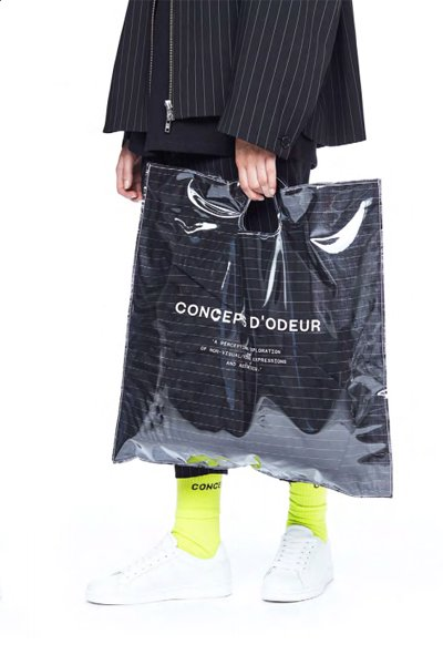 ODEUR - Collection Art Bag (Black/See Through)