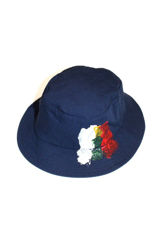 The Adams&River - BACKET HAT (NAVY)