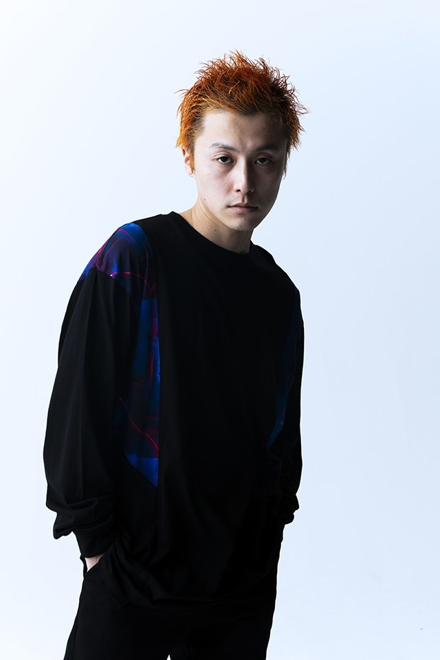 【coming soon】PARADOX - SWICTCH L/S TEE (ANTIMATTER-BLK) パラドックス  シャツ