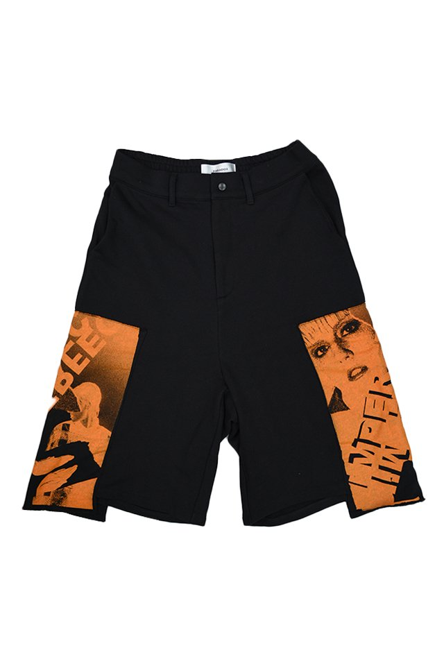 【30%OFF】PARADOX - SWEAT SHORTS (ORANGE) パラドックス  パンツ