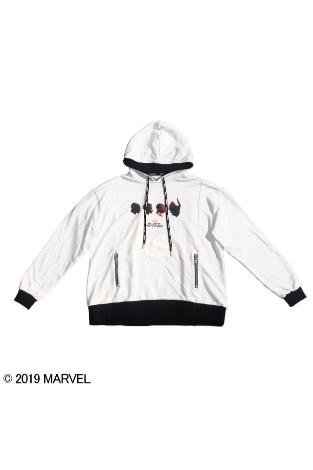【20%OFF】PARADOX  - MARVEL CHARACTER PARKA〈verWHITE〉