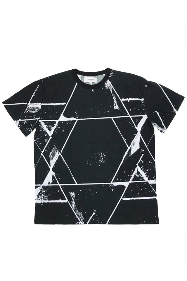 PARADOX - GRAPHIC BIG TEE (HEXAGRAM) パラドックス シャツ