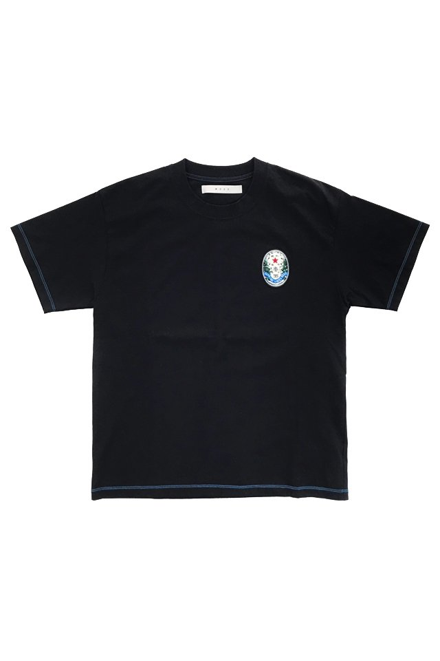 MUZE - SAPPORO LAGAR BEER OLD LABEL WAPPEN TEE (BLACK) ミューズ シャツ