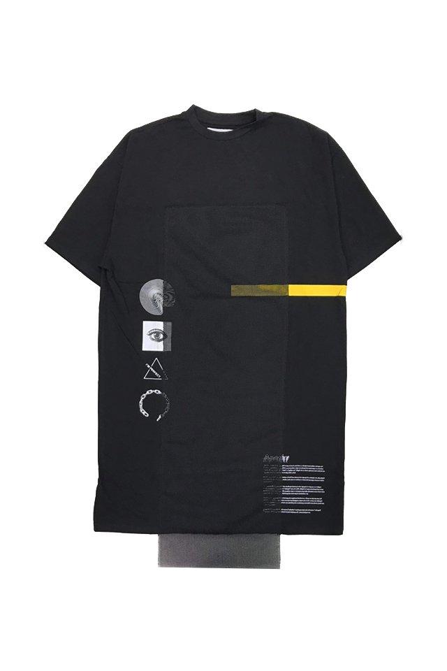 【10%OFF】PARADOX-LONG T-SHIRTS(BLACK) パラドックス シャツ