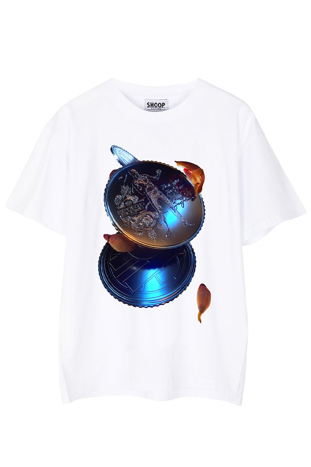 SHOOP - Coins T-shirt (WHITE) シュープ Tシャツ