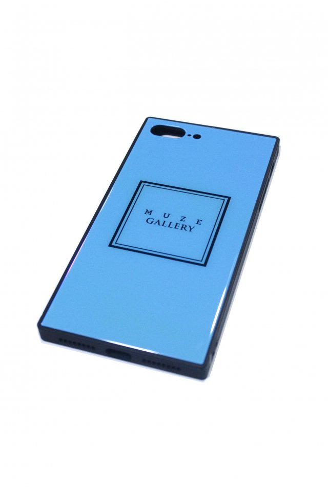 【受注商品2019年5月上旬お届け予定】MUZE GALLERY - SMART PHONE CASE(TURQUOISE)×(iPhone7/8)(7plus/8plus)(X/XS)(XR)