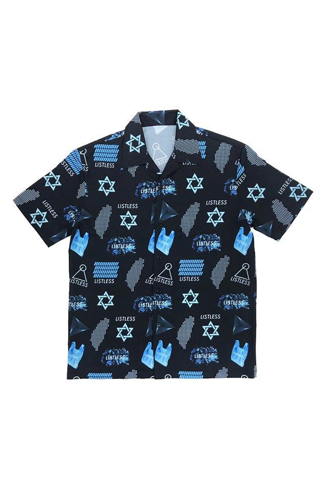 【受注商品6月下旬〜7月上旬お届け予定】LISTLESS - ICE TYPE SHIRTS リストレス シャツ