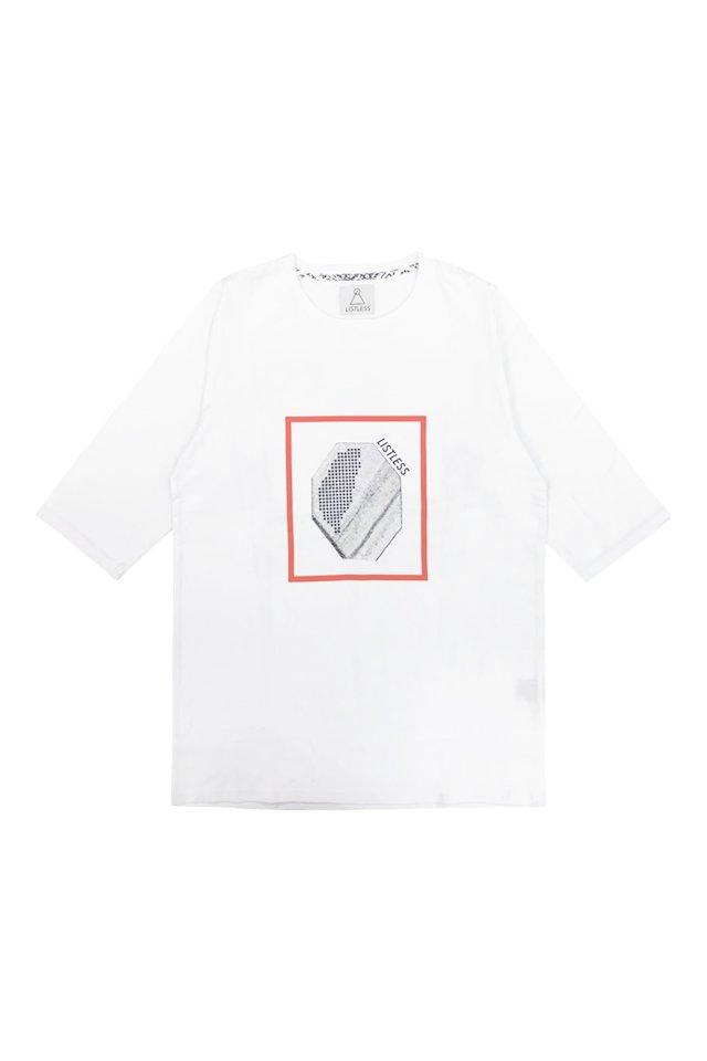 LISTLESS - 天使の結晶(WHITE) リストレス シャツ