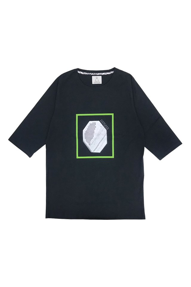 LISTLESS - 天使の結晶(BLACK) リストレス シャツ
