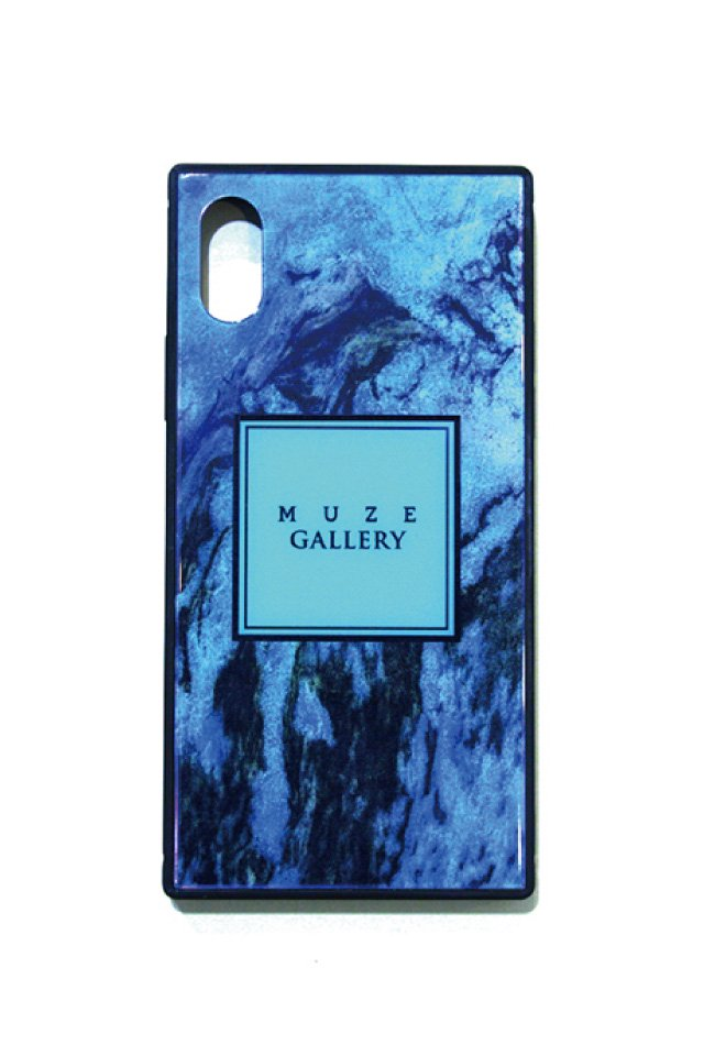 MUZE GALLERY - SMART PHONE CASE(MARBLE TQS)×(iPhone7/8)(7plus/8plus)(X/XS)(XR)