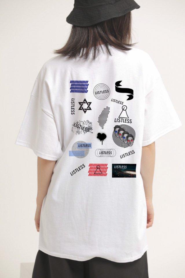 LISTLESS - COMICAL-T リストレス シャツ