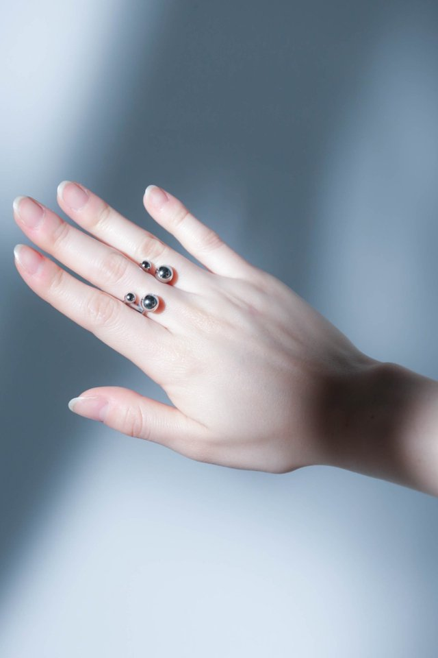 unclod - FINGER PIERCE RING typeC (SILVER) アンクロッド リング